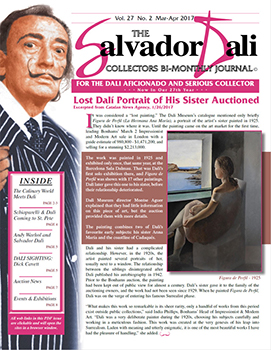 The Salvador Dali Collectors Bi-Monthly Journal (6 Issues)